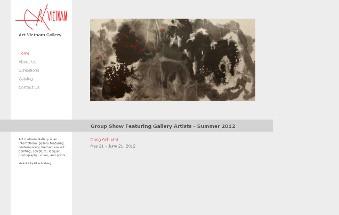 artvietnamgallery_website